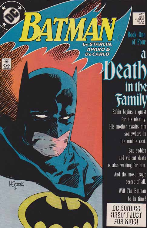 Batman #426 (Death In The Family Part 1)