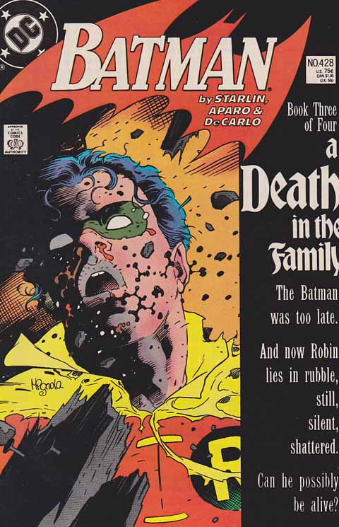 Batman #428 Death In The Family