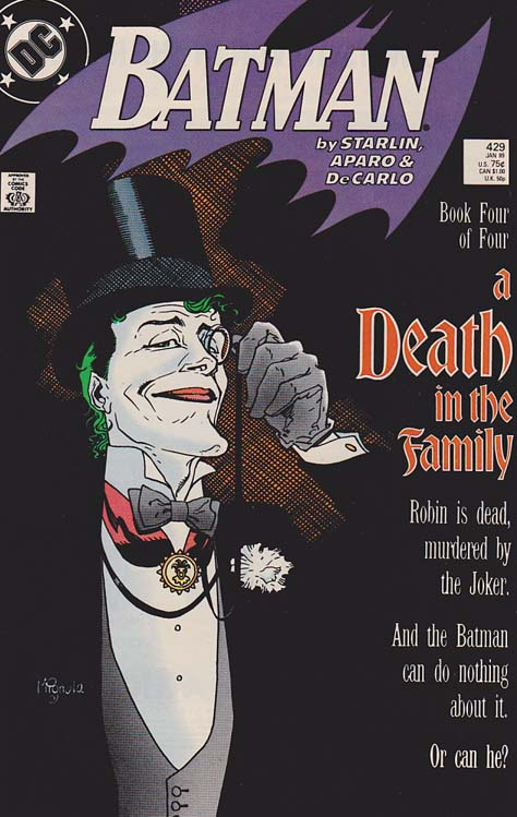 Batman #429 Death In The Family