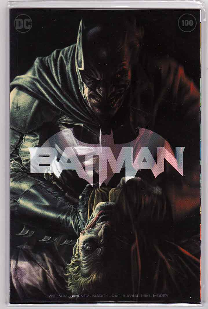 Batman #100 (2020) Bermejo Variant Cover, Limited 10K RARE, Jorge Jimenez Pencils, James Tynion IV Story, 1st Appearance of Ghost-Maker