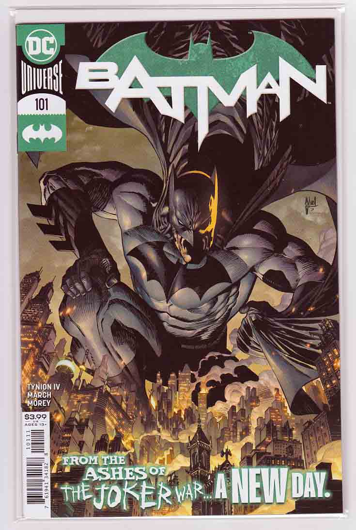 Batman #101 (2020) Guillem March Cover, Guillem March Pencils, James Tynion IV Story, 2nd Appearance of Ghost-Maker