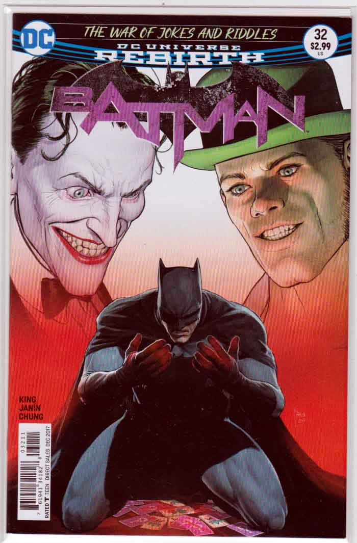 Batman #32 (2017) Mikel Janin Cover, Clay Mann Pencils, Tom King Story