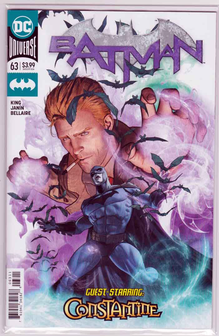 Batman #63 (2019) Mikel Janin Cover & Pencils, Tom King Story, John Constantine Appearance