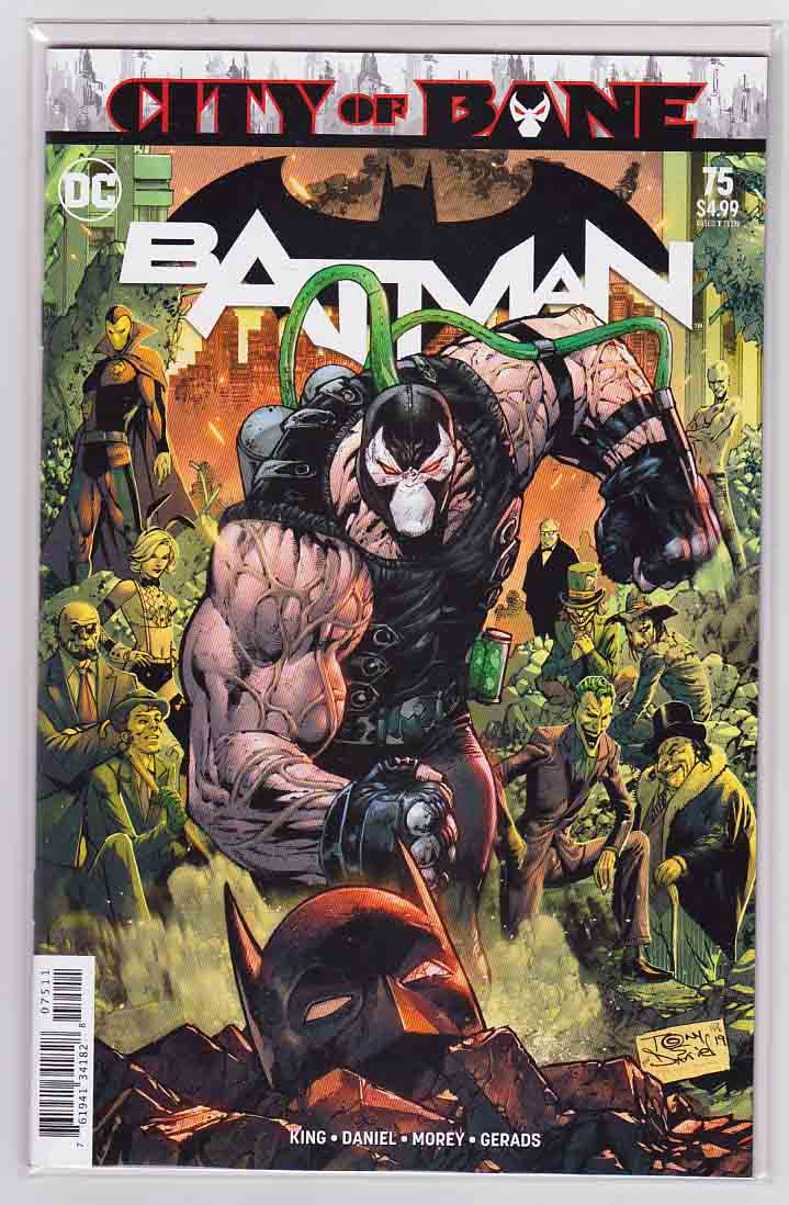 BBatman #75 (2019) Tony S Daniel Cover & Mikel Janin  Pencils, Tom King Story, (Year Of The Villain The Offer Tie-In)