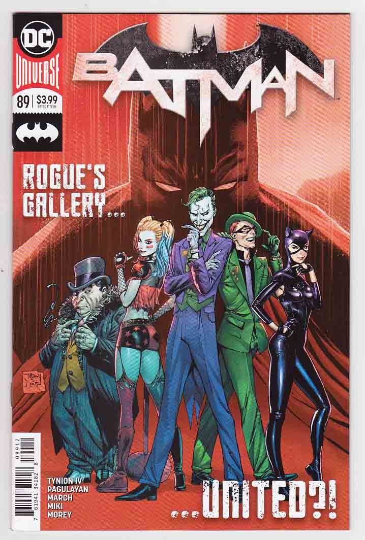 Batman #89 (2020) 2nd Printing Tony S. Daniel Cover & Guillem March & Carlo Pagulayan Pencils, James Tynion IV Story, 1st Appearance of Punchline