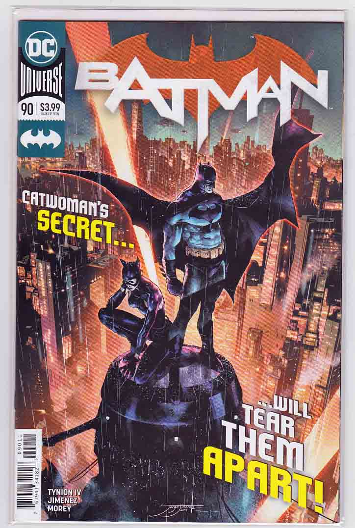 Batman #90 (2020) Jorge Jimenez & Tomeu Morey Cover, Guillem March & Carlo Pagulayan Pencils, James Tynion IV Story
