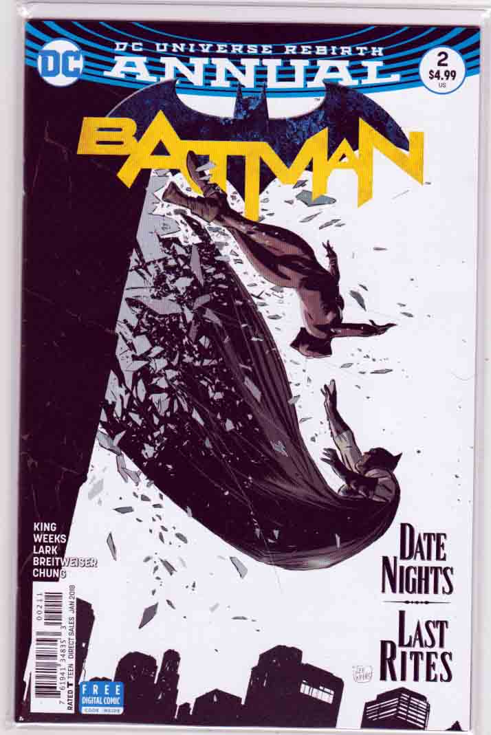 Batman Annual #2 (2018) Lee Weeks Cover & Pencils, Story by Tom King