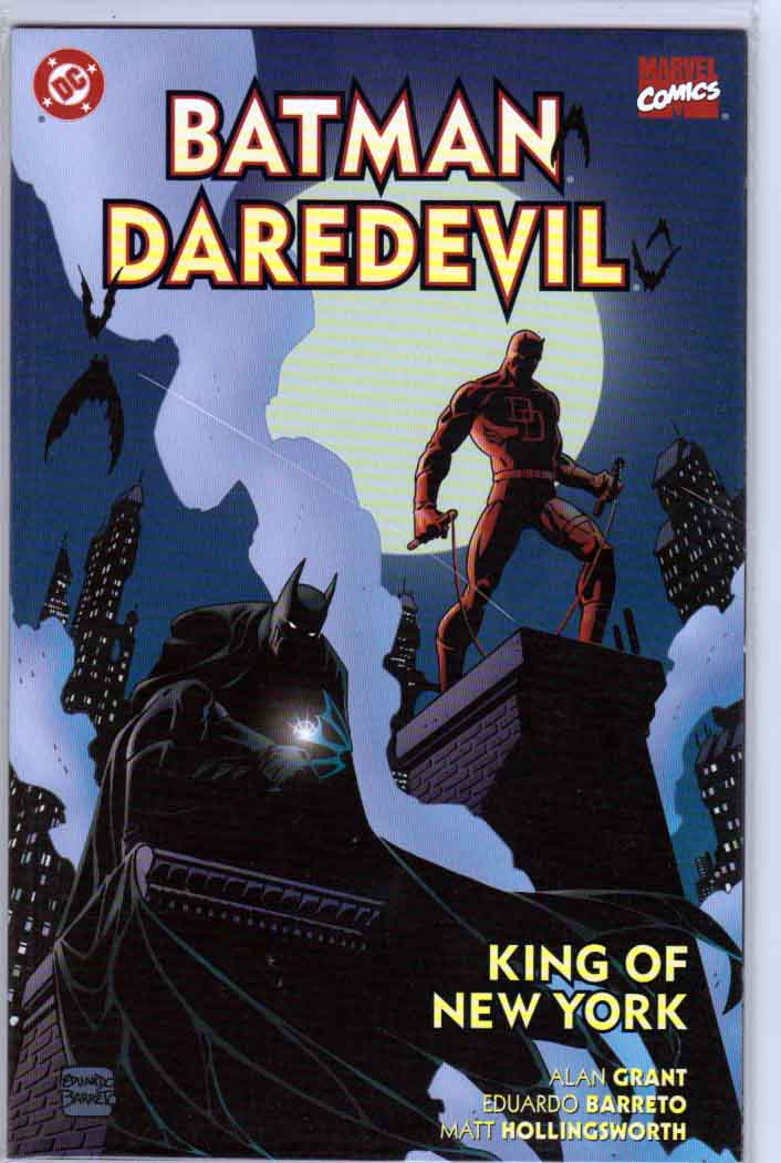 Batman/Daredevil: King of New York is an Elseworlds graphic novel published by DC Comics in 2000, written by Alan Grant, with art by Michael Lark.