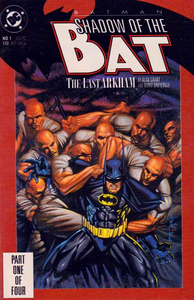 Batman Shadow of the Bat 1992 series # 2 near mint comic book