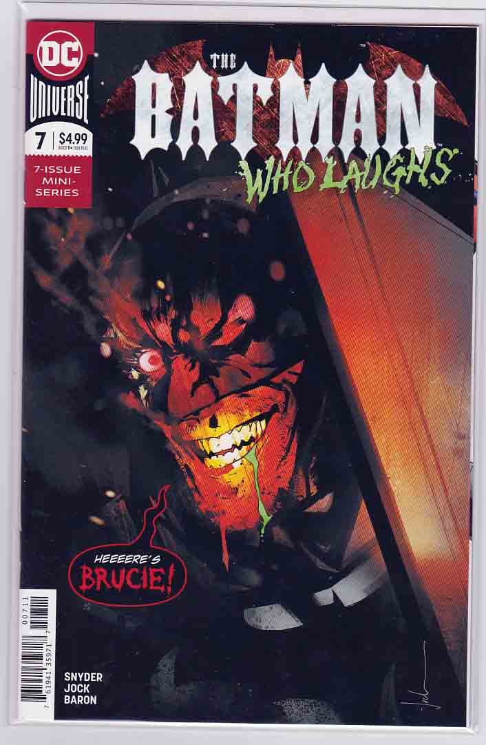 Batman Who Laughs #1 (2019) DC Comics