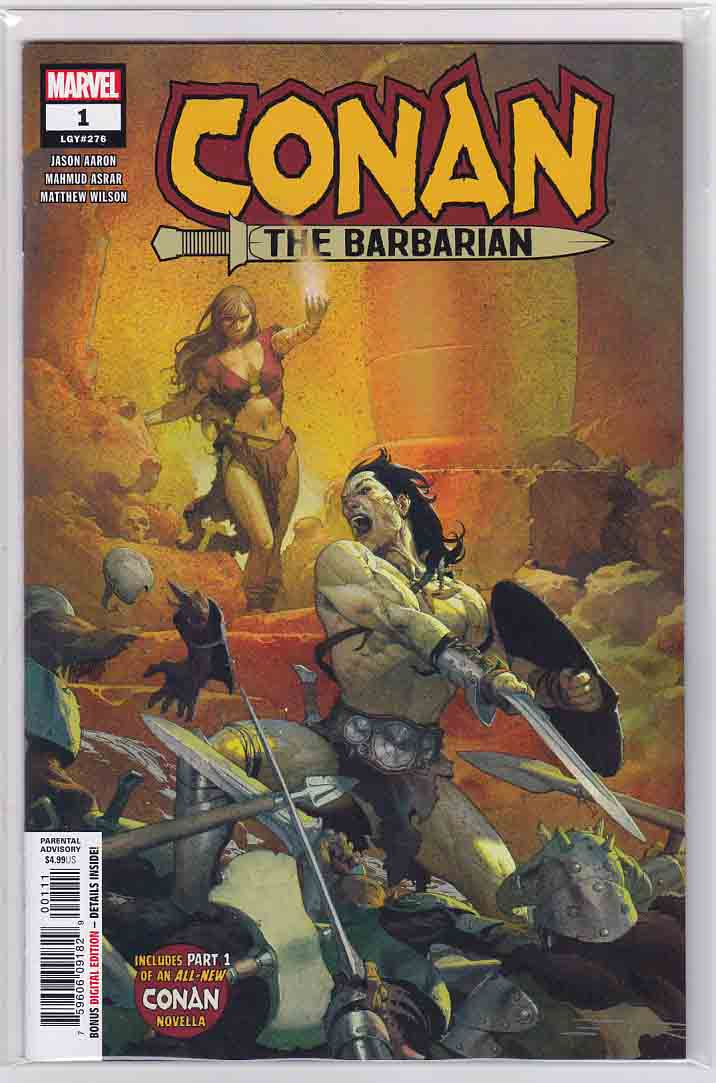 Conan the Barbarian Vol  4 (2019) Marvel Comics