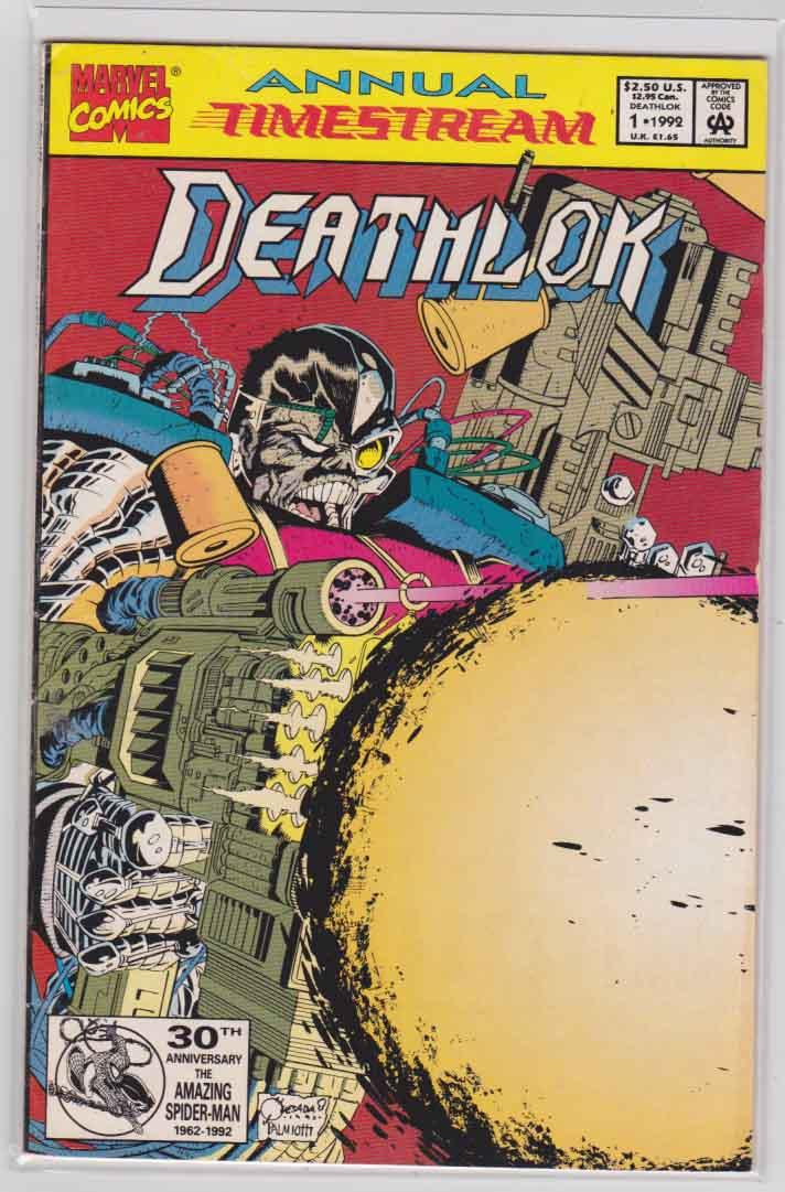 Deathlok Vol  2 (1991-1994) Marvel Comics