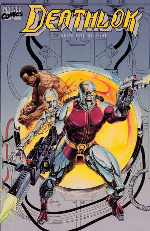 Deathlok #1 A new Deathlok, Michael Collins, debuted in the miniseries Deathlok #1-4 (July-Oct. 1990, reprinted as Deathlok Special #1-4 the following year).