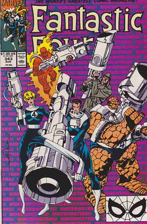 Fantastic Four 1961 series # 338 near mint comic book