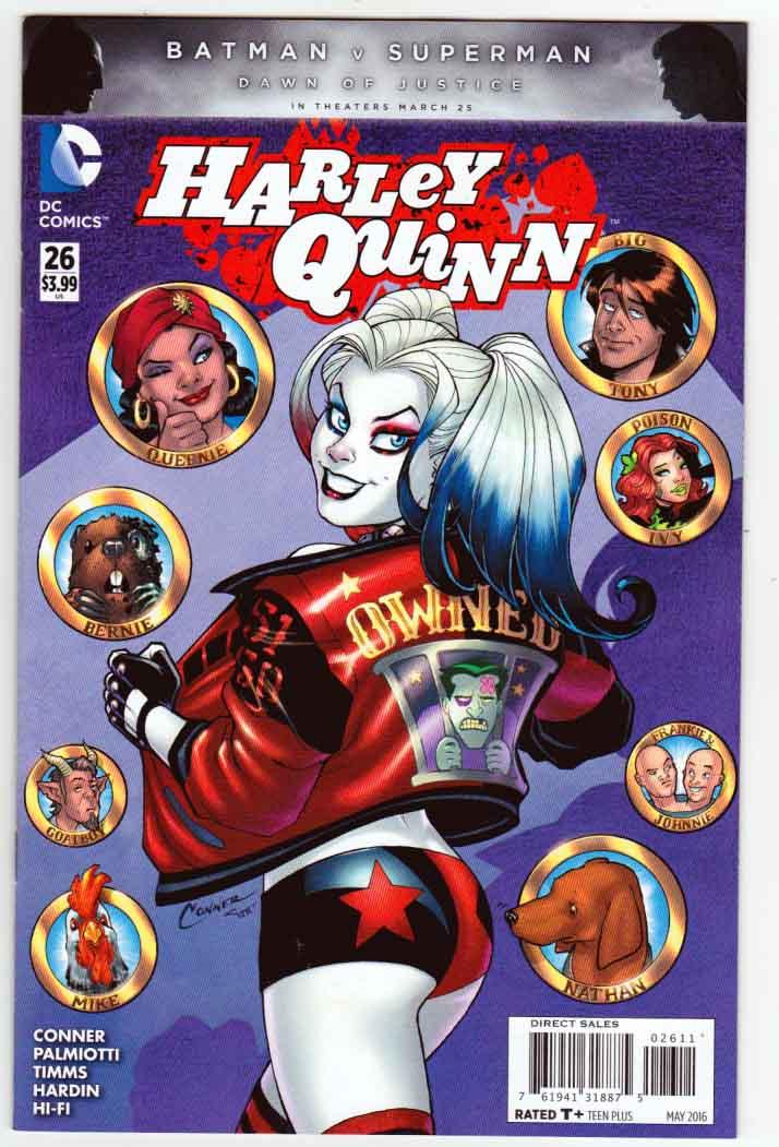 Harley Quinn Rebirth # 26 DC NM Regular Cover