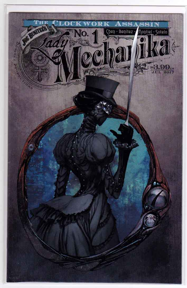 Lady Mechanika Clockwork Assassin #1 (2017) Regular Joe Benitez Cover A, Joe Benitez & M.M. Chen Story, Joe Benitez & Martin Montiel Pencils