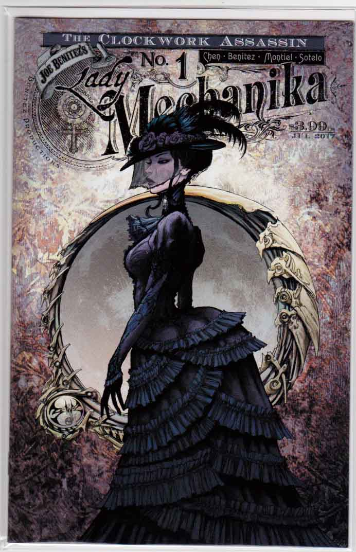 Lady Mechanika Clockwork Assassin #1 (2017) Variant Joe Benitez Cover B, Joe Benitez & M.M. Chen Story, Joe Benitez & Martin Montiel Pencils