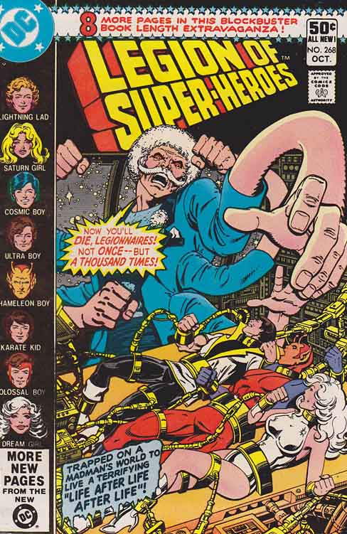 Legion Of Super Heroes 295 1983 Keith Giffen Larry