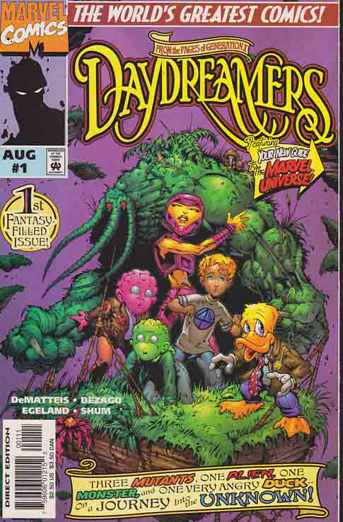 Daydreamers #1 (1997) Martin Egeland Cover &  Pencils,  J.M. DeMatteis & Todd DeZago Story, Dark Hunter (First appearance)