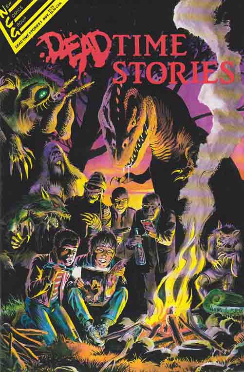 Dead Time Stories One-Shot (1987) New Comics Group / Cover Art By Tom Yeates and Steve Bissette