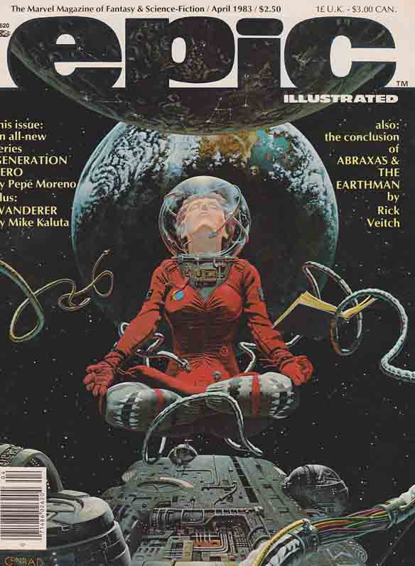 Epic Illustrated The Marvel Magazine of Fantasy and Science Fiction #17