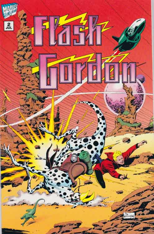 Flash Gordon #2 Treachery in Torneo by Mark Schultz Art by Al Williamson