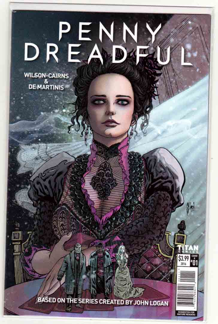 Penny Dreadful #1 (2016) Regular Guillem March Cover. Louis DeMartinis Pencils. Krysty Wilson-cairns Story.