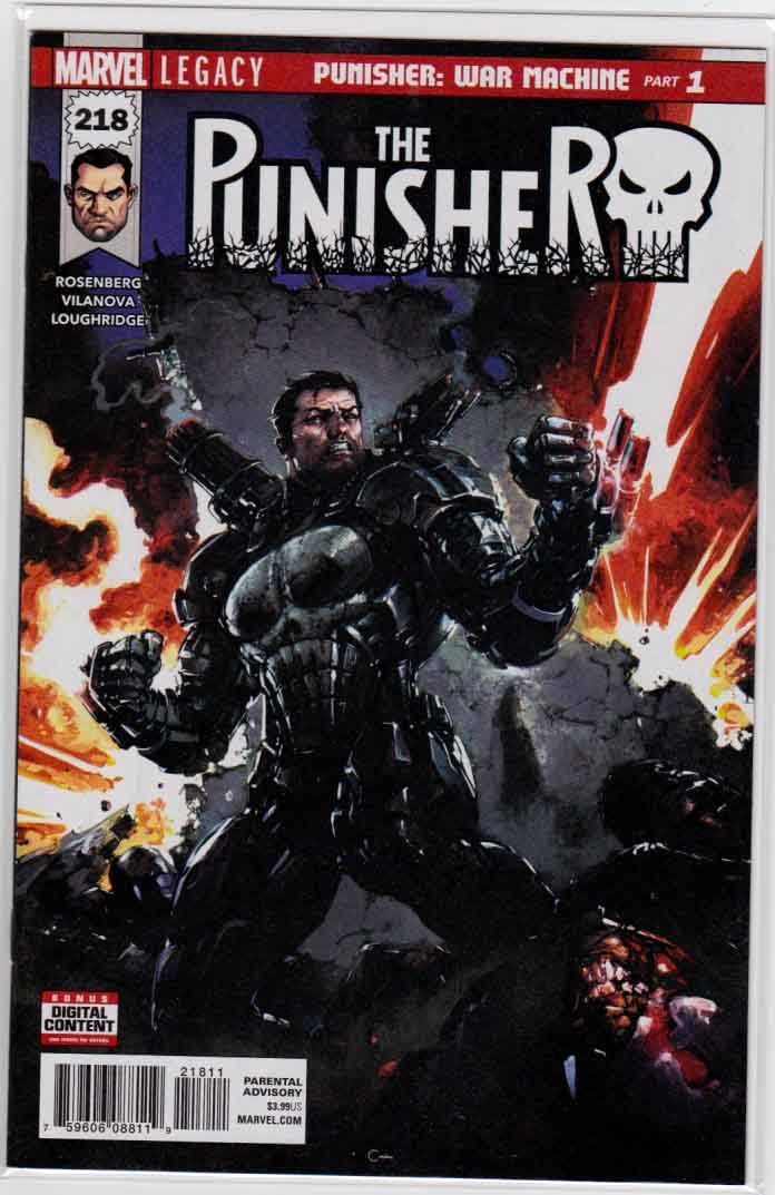 Punisher 2016 (2016) Marvel Comics