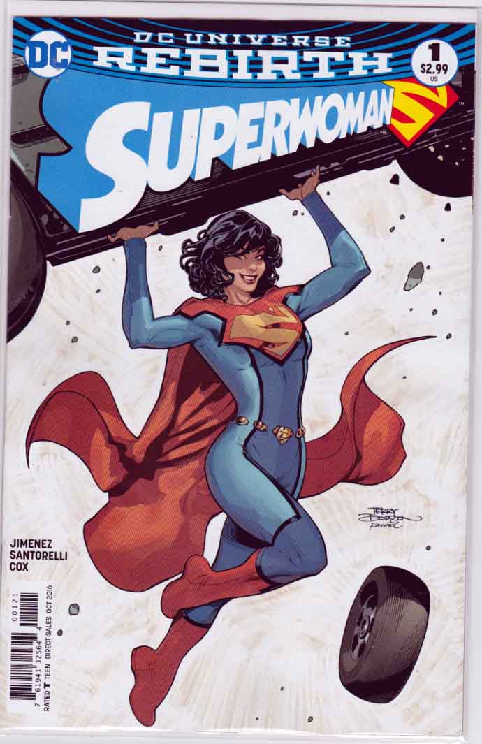 Superwoman #1 (2016) Variant Terry Dodson Cover. Phil Jimenez Pencils & Story.