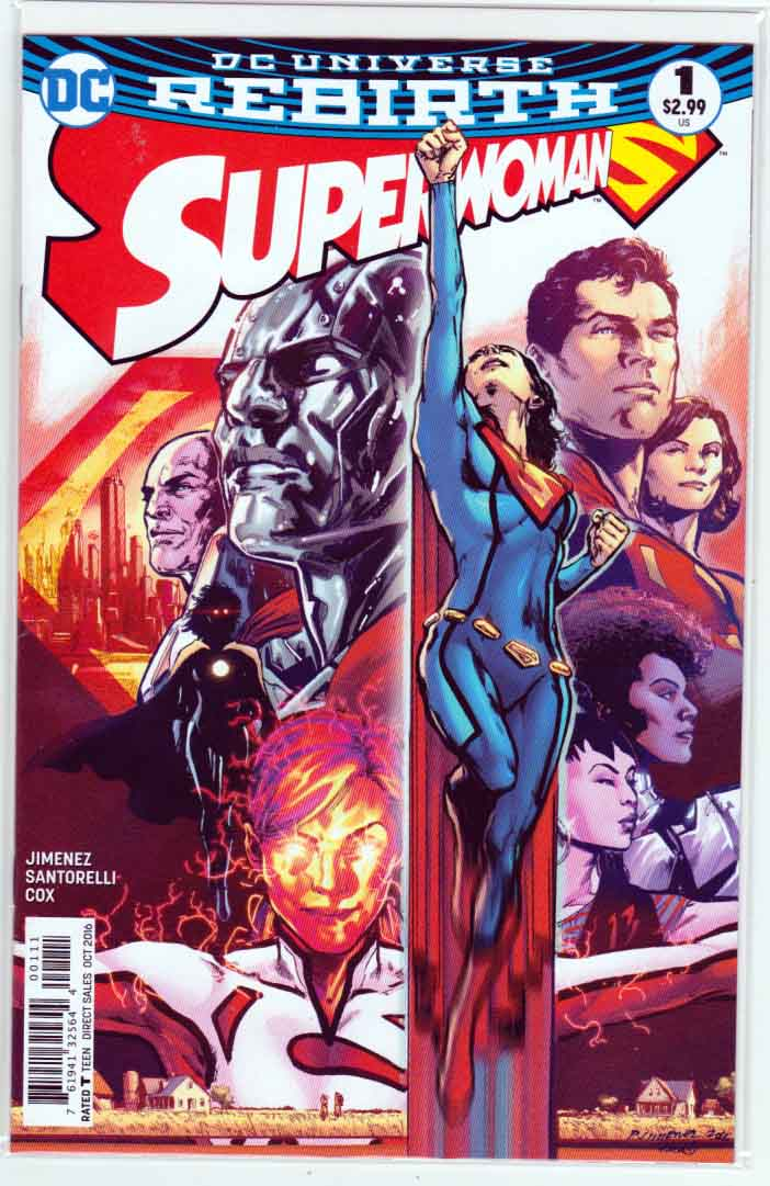 Superwoman #1 (2016) Regular Phil Jimenez Cover. Phil Jimenez Pencils & Story.