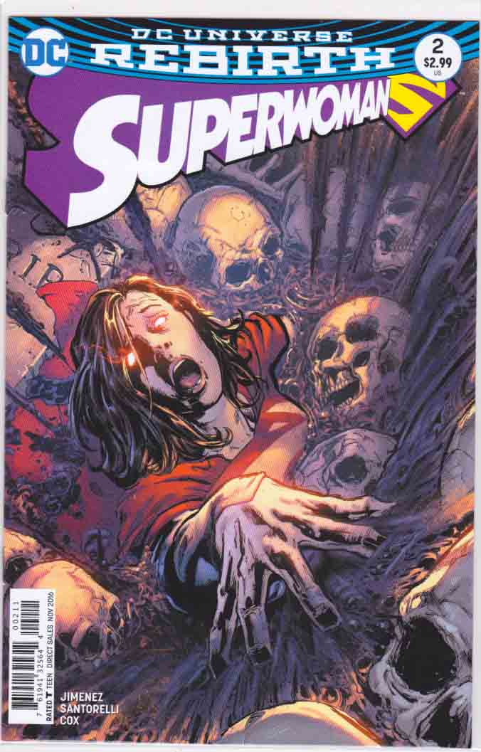 Superwoman #2 (2016) Regular Phil Jimenez Cover Cover. Phil Jimenez Pencils & Story.