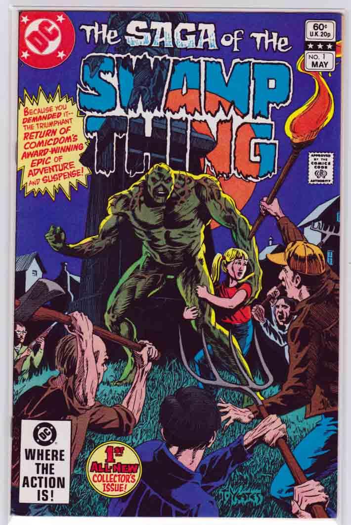 Swamp Thing Vol  #2, Swamp Thing Comics, Rare and New Swamp